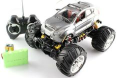 1:16 LEXUS Monster Truck RC Remote Control car with Rechargeable Batteries RTR by Lexus. $29.99. working suspension. Monster Truck Tires. Rechargeable batteries. Full Function. Extreme Detail