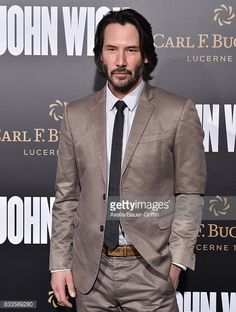 Actor Keanu Reeves arrives at the Los Angeles premiere of Summit Entertainment's 'John Wick: Chapter 2' at ArcLight Hollywood on January 30, 2017 in Hollywood, California.