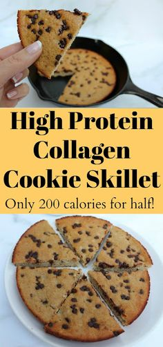 Low fat, high protein and only 200 calorie. Low fat, high protein and only 200 calories for half! Vegan Protein Cookies, Low Calorie Cookies, Low Fat Cookies, High Protein Desserts, Low Fat Desserts, Low Fat Snacks, Healthy Protein Snacks, Low Calorie Snacks, High Protein Recipes