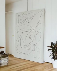 Oversized neutral art
