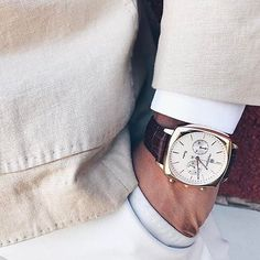 Owner's pics : @3patchpocket looking classy with their Carlton chrono in rose gold. For more info on stock availability, please contact us.