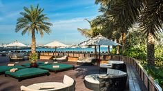 Barasti Beach Bar is day and night club in Dubai's luxury hotel - Le Meridien Mina Seyahi Resort. It should be your perfect destination to enjoy the casual & relaxed party atmosphere in night.