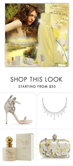 """""""Ode to simplicity..."""" by nannerl27forever ❤ liked on Polyvore featuring Poesia, Carolina Herrera, Sergio Rossi, Jessica Simpson, WALL, Alexander McQueen and Timorous Beasties"""