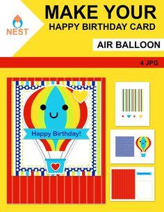 Air Balloon, Balloons, Teacher Tools, Teacher Resources, Happy Birthday Cards, Creative Teaching, Teaching Ideas, Homeschool Worksheets, Interactive Learning