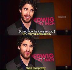 haha dork!!!!!! I love this man.