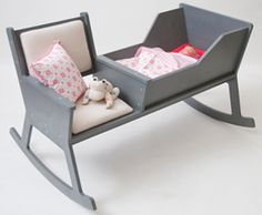 A nursing chair and bassinet in one❤HJ