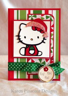 hello kitty christmas card - - Yahoo Image Search Results