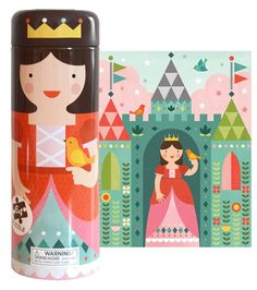Tin canister puzzles  by Petit Collage is the newest series of puzzles. The tin canisters are adorned with charming characte...