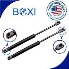 Pair of 2 Rear Trunk Gas Charged Lift Support Shocks Strut For 99-02 BMW Z3