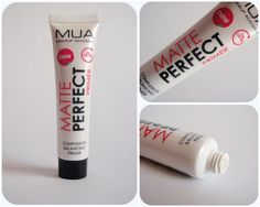 Midnight Violets    UK MakeUp & Beauty Blog: Review: MUA Matte Perfect Primer (It's a dupe!)