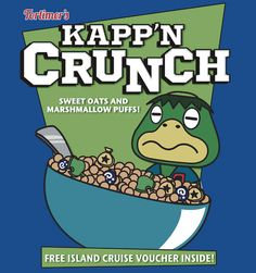 Kapp'n Crunch! New design up on my Redbubble!