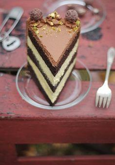 Sprinkle Bakes: Black Truffle-Pistachio Chocolate Cake