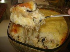 Imagem da receita Escondidinho de bacalhau com batata doce
