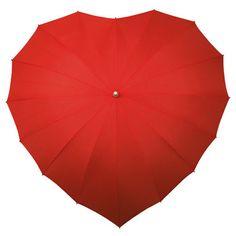 Heart Umbrella Designer Impliva Netherlands | eBay