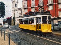 Tram 28 in Lisbon. Photo by Kay of kayandcamera.co.uk