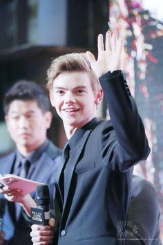Thomas: imagine him waving to you. *swoon*
