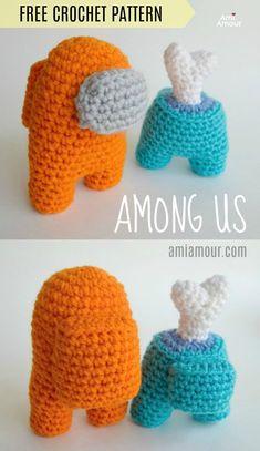 Diy Crafts Crochet, Crochet Gifts, Cute Crochet, Knit Crochet, Diy Crochet Projects, Funny Crochet, Kawaii Crochet, Crochet Braid, Crochet Things