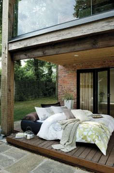 Sleeping under the stars.  http://www.beddingworld.co.uk/p/This_Morning_Portabello_Bedding_Set_in_Natural.htm