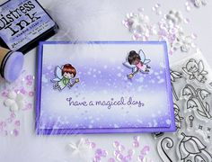 have a magical day with fairy friends from lawn fawn by colorful capricorn days blogspot