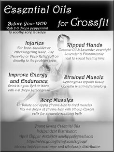Crossfit,  Muscle Pain,  Athlete, energy, young living, essential oils, pure joy