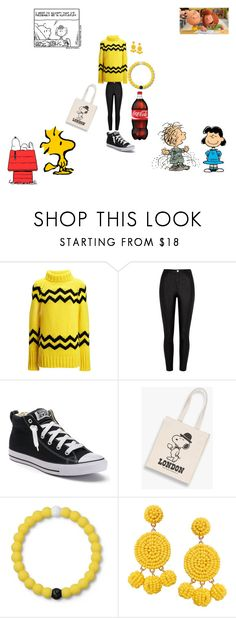 """Peanuts"" by hanna-debruhl ❤ liked on Polyvore featuring Joseph, River Island, Converse, NOLA, Lokai and Humble Chic"