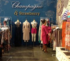 Champagne and Strawberry Booth at WWDMAGIC