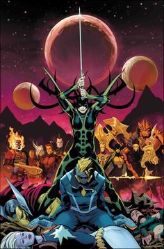 The Dark Guardians have taken Gamora and left the Guardians of the Galaxy for dead. Fortunately, the Guardians still have allies. Marvel Dc, Serie Marvel, Marvel Comics Art, Captain Marvel, Cosmic Comics, Avengers Comics, Marvel Comic Character, Marvel Characters, Marvel Villains