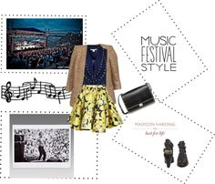 """Music Festival"" by ivybui on Polyvore"