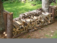 Picture of Rustic firewood rack