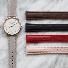 Rosefield watches custom strap