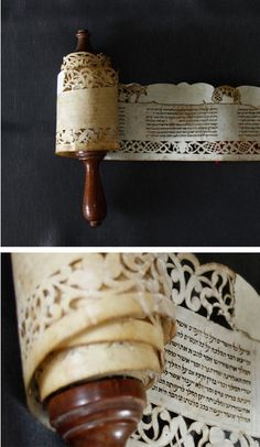 Esther Scroll. Ancona, early 18th century Handwritten text. Unfinished…