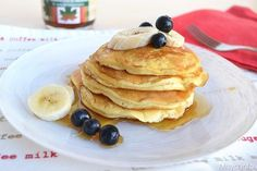 I Pancakes allo sciroppo d'acero sono la classica colazione della domenica…