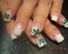 131 best st patrick's day nail design images in 2019  st