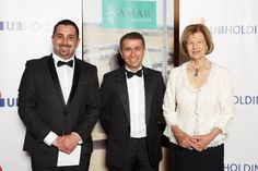 Hussein Al-alak and Baroness Emma Nicholson at the Foreign Office in #London. The picture was taken at the 25th anniversary of the UK based AMAR Foundation.
