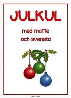 Christmas Bulbs, Xmas, Math For Kids, Preschool, Language, Teacher, Writing, Education, Holiday Decor