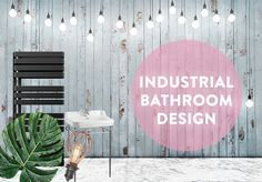 Who doesn't love a bit of the soft industrial? We're having some serious feelings towards this look right now! Check out our design article to learn Drench's top secrets to getting the industrial look! Industrial Bathroom Design, Article Design, Small Bathrooms, Feelings, Check, Top, Inspiration, Ideas, Home Decor
