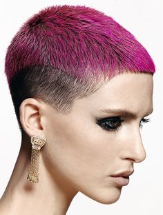Chumba Concept Salon Short Pink Hairstyles