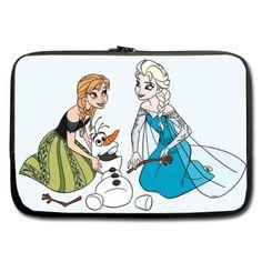 "Frozen Elsa Anna Olaf Sleeve for 17"" MacBook Pro"