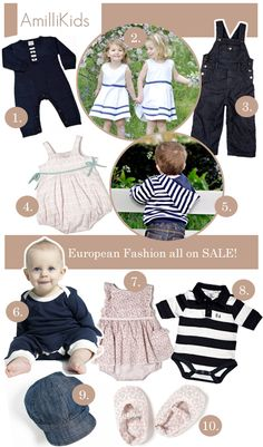 Chic European Kids Fashion On Sale: Up to 30% Sale At Amilli Kids + FREE Shipping Offer