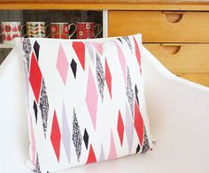 Original 50s fabric cushion