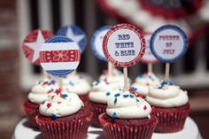 Red, White & Blue 4th of July Printable Block Party - Paper and Cake Paper and Cake