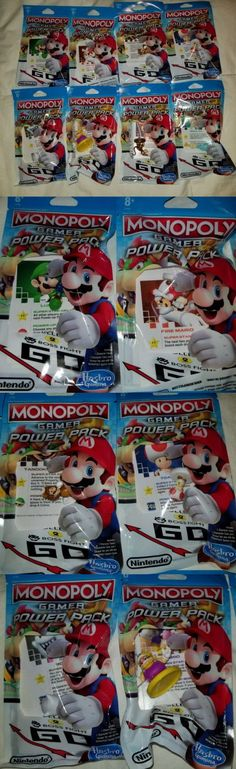 Game Pieces Parts 7317: Nintendo Monopoly Gamer Power Pack Complete Set Of 8 Rosalina Tanooki Mario -> BUY IT NOW ONLY: $72 on eBay!