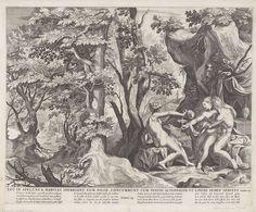 Lot en zijn dochters, anoniem, Raphaël Sadeler (I), Nicolaes Visscher (I), 1652 - 1702