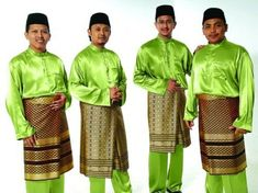 malay traditional clothes male - Google Search