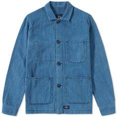 Bleu de Paname Woven Denim Counter Jacket