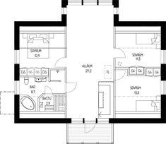 Stensö - ETT SMART HUS lämnar så lite avtryck som möjligt Floor Plans, How To Plan, Interior Design, Architecture, House, Nest Design, Arquitetura, Home Interior Design, Interior Designing