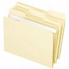 Organized office with hostess folders.