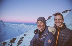 Geoff Wilson and Simon Goodburn - Father and son-in-law pair! Geoff Wilson, Son In Law, Outdoor Apparel, Father And Son, Sons, Pairs, Pure Products, Outdoor Clothing, My Son