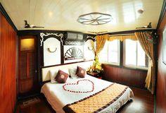 Deluxe Cabin - Ha Long bay  pystravel.com
