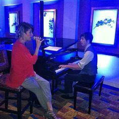 Caro performing live at the Renaissance Los Angeles Airport Hotel #music #singer #LA